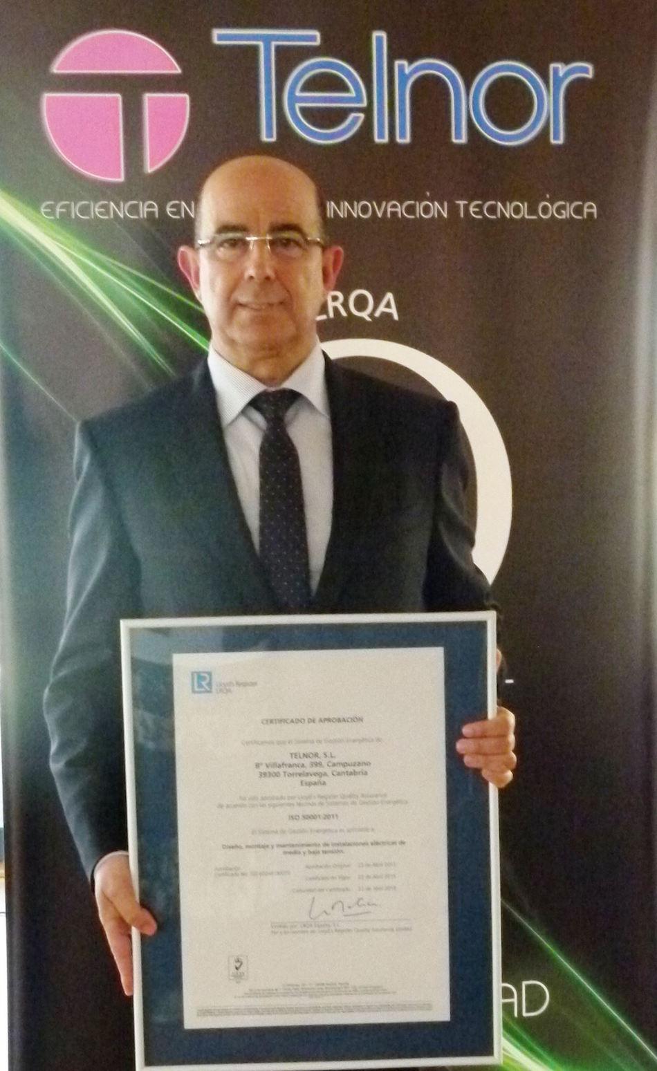 Telnor, Certificación ISO 50001, Gestión Eficiente de la Energía