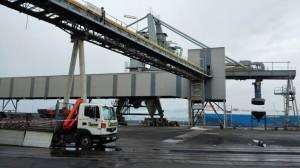 Trabajos realizados por Telnor en el puerto de Raos