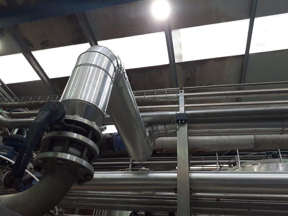 Ahorro Energetico en la Factoria de Leche Celta de Meruelo, Cantabria, Telnor, servicios energeticos, torrelavega, 1